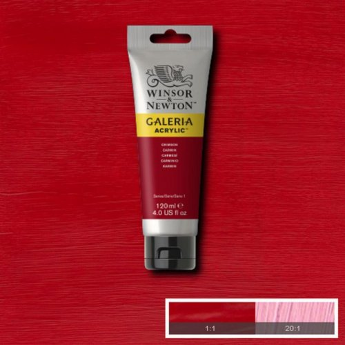 Galeria 120ml Akrilik Boya No:203 Crimson - 203 Crimson
