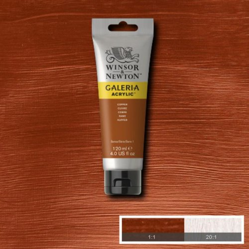 Galeria 120ml Akrilik Boya No:214 Copper - 214 Copper