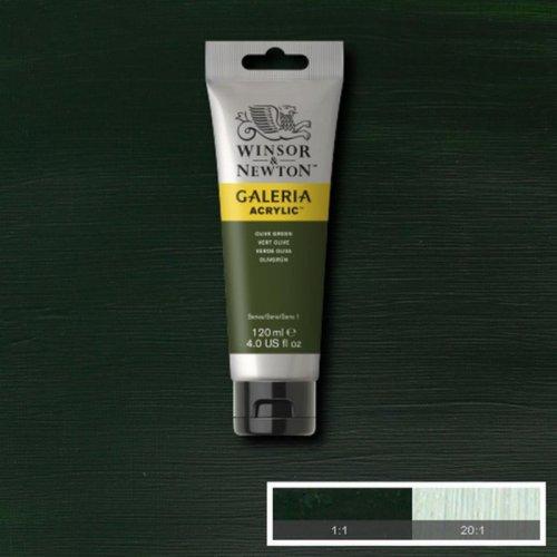 Galeria 120ml Akrilik Boya No:447 Olive Green - 447 Olive Green