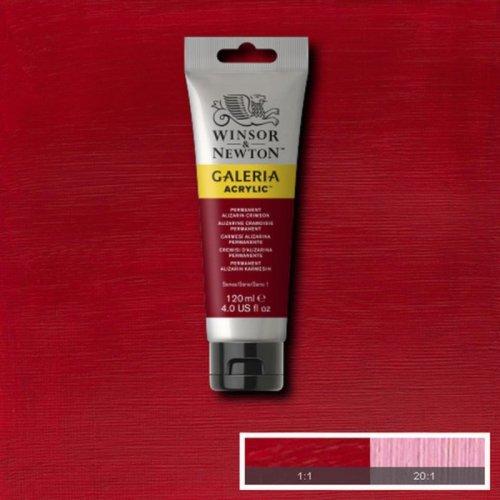 Galeria 120ml Akrilik Boya No:466 Permanent Alizarin Crimson - 466 Permanent Alizarin Crimson