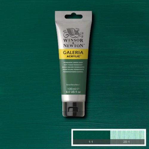 Galeria 120ml Akrilik Boya No:482 Permanent Green Deep - 482 Permanent Green Deep