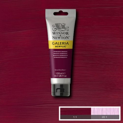 Galeria 120ml Akrilik Boya No:488 Permanent Magenta - 488 Permanent Magenta