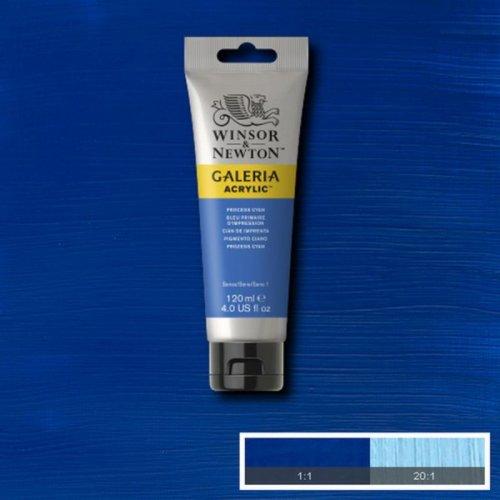 Galeria 120ml Akrilik Boya No:535 Process Cyan - 535 Process Cyan