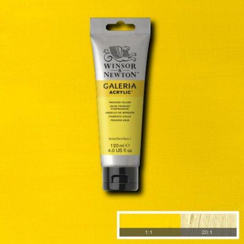 Galeria 120ml Akrilik Boya No:537 Process Yellow - 537 Process Yellow