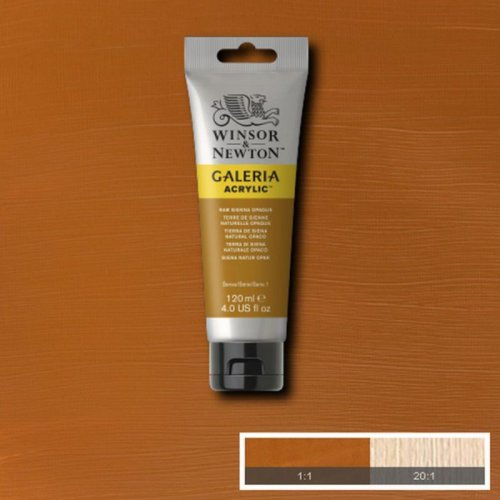 Galeria 120ml Akrilik Boya No:553 Raw Sienna Opaque - 553 Raw Sienna Opaque