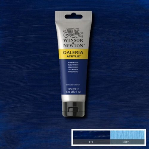 Galeria 120ml Akrilik Boya No:706 Winsor Blue - 706 Winsor Blue