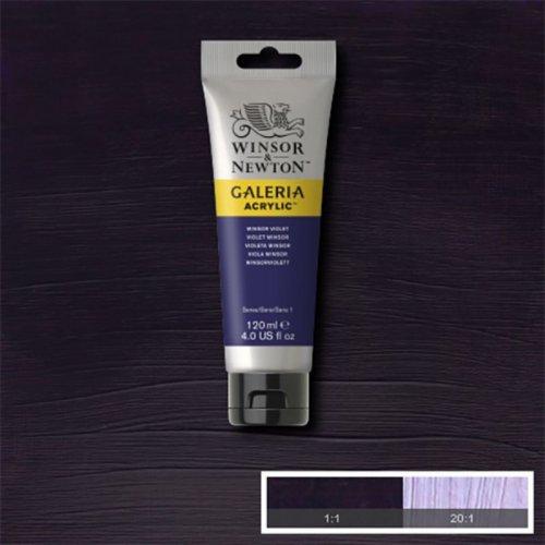 Galeria 120ml Akrilik Boya No:728 Winsor Violet - 728 Winsor Violet