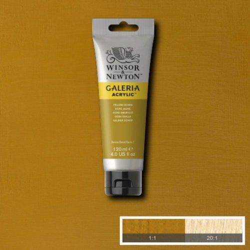 Galeria 120ml Akrilik Boya No:744 Yellow Ochre - 744 Yellow Ochre