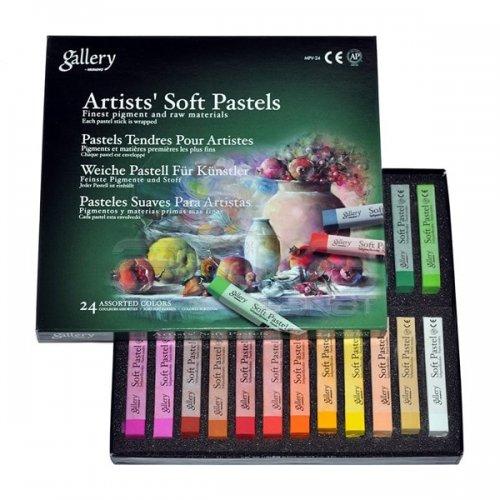 Mungyo Gallery Artists Soft Pastel 24lü Set