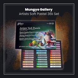 Mungyo - Mungyo Gallery Artists Soft Pastel 36lı Set (1)