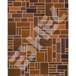 Eshel - Eshel Geometrik Desenli Karton Duvar 1/50 Paket İçi:3 (1)