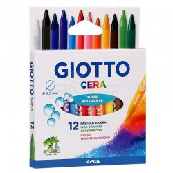 Giotto - Giotto Cera 12li Mum Boya Seti 281200