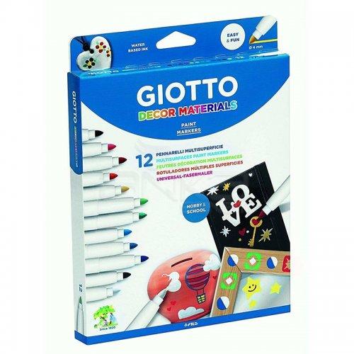 Giotto Decor Materials Keçeli Kalem 12li 453400