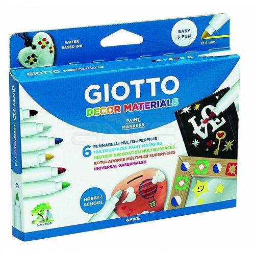 Giotto Decor Materials Keçeli Kalem 6lı 453300