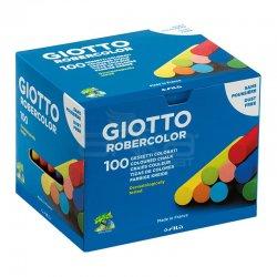 Giotto - Giotto Robercolor Tozsuz Tebeşir Karışık Renkli 100lü Paket – 539000