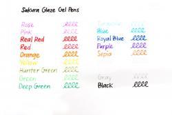 Sakura - Glaze 3D Glossy Ink Jel Kalem (1)