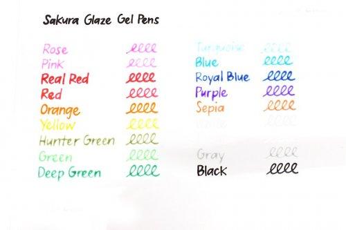 Glaze 3D Glossy Ink Jel Kalem