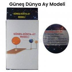 Güneş-Dünya-Ay Deney Seti Modeli - Thumbnail