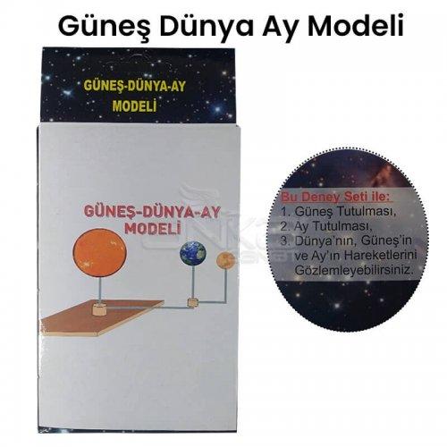 Güneş-Dünya-Ay Deney Seti Modeli