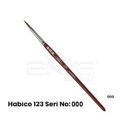 Habico - Habico 123 Seri Sentetik Yuvarlak Uçlu Fırça (1)
