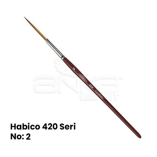 Habico 420 Seri Tabela-Çizgi / Samur Fırça