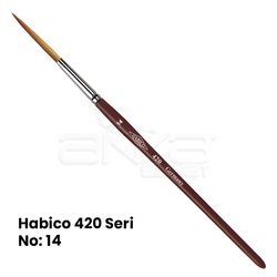 Habico 420 Seri Tabela-Çizgi / Samur Fırça - Thumbnail