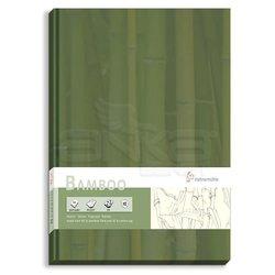 Hahnemühle - Hahnemühle Bamboo Çizim Defteri Düz Sert Kapak 105g 64 Yaprak (1)