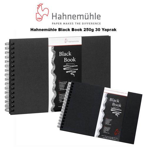 Hahnemühle Black Book 250g 30 Yaprak
