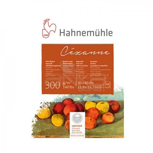 Hahnemühle Cezanne Sulu Boya Blok Hot Pressed 300g 10 Yaprak