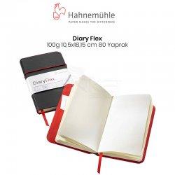 Hahnemühle - Hahnemühle Diary Flexbook 100g 10.5x18.15cm 80 Yaprak Çizgisiz