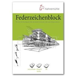 Hahnemühle Federzeichenblock Pen and İnk Drawing Pad A4 250g 10 Yaprak - Thumbnail