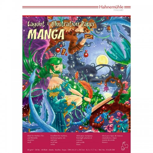 Hahnemühle Layout Paper Manga A4 40 Yaprak 80g