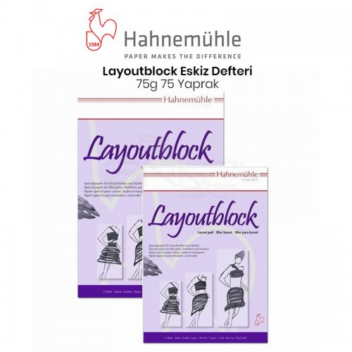 Hahnemühle Layoutblock 75 Yaprak 75g