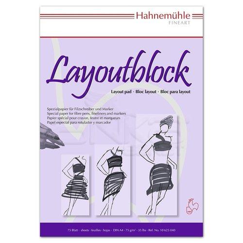 Hahnemühle Layoutblock 75 Sayfa 75g