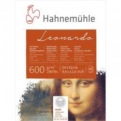 Hahnemühle Leonardo Sulu Boya Blok Defter Cold Pressed 600g 10 Yaprak 24x32cm - Thumbnail