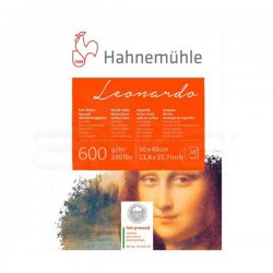 Hahnemühle Leonardo Sulu Boya Blok Defter Hot Pressed 600g 10 Yaprak - Thumbnail