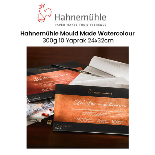 Hahnemühle Mould Made Watercolour 300g 10 Yaprak 24x32cm