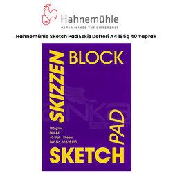 Hahnemühle - Hahnemühle Sketch Pad Eskiz Defteri A4 185g 40 Yaprak