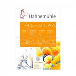 Hahnemühle - Hahnemühle Skizze Pastell Boya Bloğu Natural White A4 130g