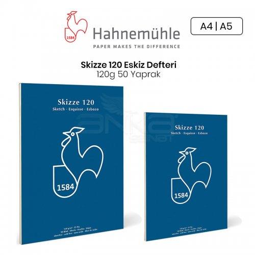 Hahnemühle Sketch Pad Eskiz Blok 120g 50 Yaprak