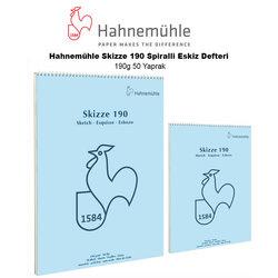 Hahnemühle - Hahnemühle Skizze 190 Spiralli Eskiz Defteri 190g 50 Yaprak