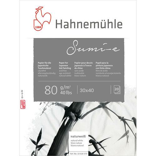 Hahnemühle Sumi-e Çizim Eskiz Blok 80g 20 Yaprak