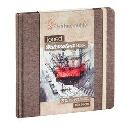 Hahnemühle Toned Beige Watercolour Book 14x14cm 30 Yaprak 200g - Thumbnail