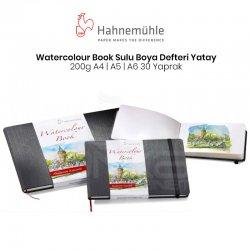 Hahnemühle - Hahnemühle Watercolour Book Sulu Boya Defteri Yatay 200g 30 Yaprak
