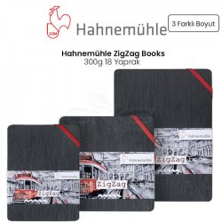 Hahnemühle ZigZag Sulu Boya Blok 300g 18 Yaprak - Thumbnail