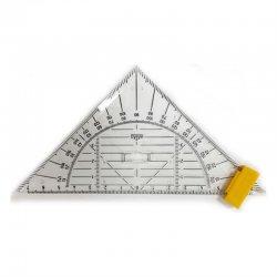 Hatas - Hatas Geometrik Açılı Gönye 16cm Kod:0500
