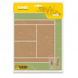 Eshel - Eshel İnsan Figürleri ve Tenis Oyun Alanı 1/75 Paket İçi:2