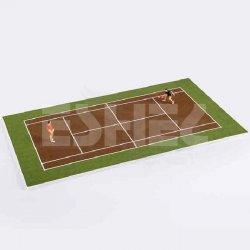 Eshel - Eshel İnsan Figürleri ve Tenis Oyun Alanı 1/75 Paket İçi:2 (1)