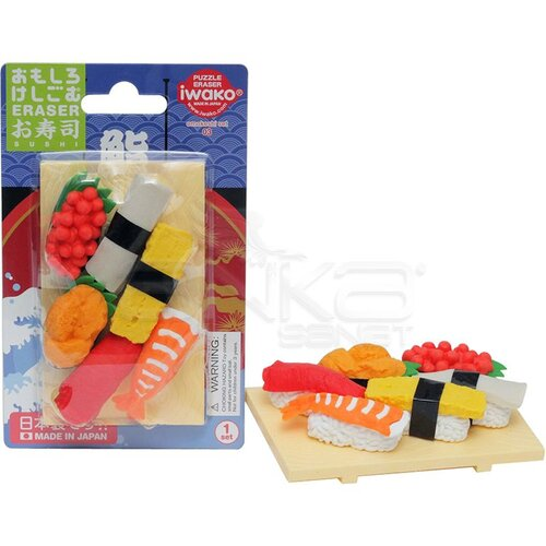 Iwako Puzzle Silgi 6lı Anmitsu Shop