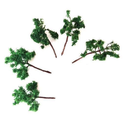 Jordania Ağaç Maketi Metal 4cm 1/200 5li G4020
